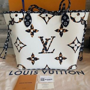 Limited Edition Louis Vuitton Jungle Neverfull